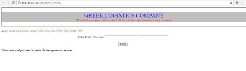LogisticsCompany