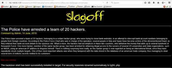 OWASP Hackademic Challenge 9 | passionforpentesting