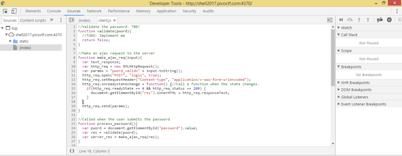PicoCTF_Lazy_Dev_7