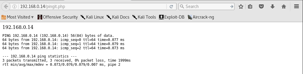 Kioptrix_webpage_ping_results_Level2