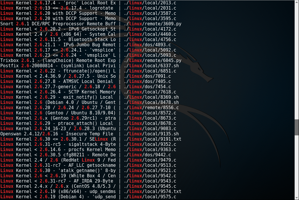 Kioptrix_webpage_searchsploit_2_Level2