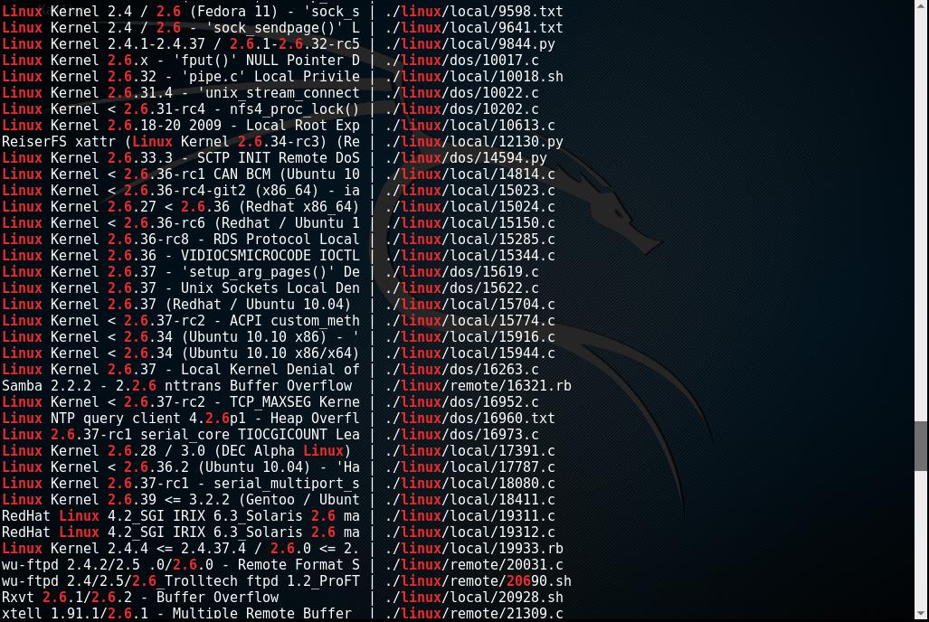 Kioptrix_webpage_searchsploit_3_Level2