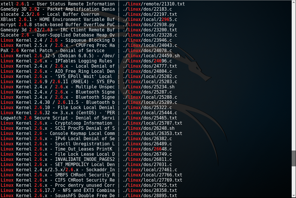 Kioptrix_webpage_searchsploit_4_Level2