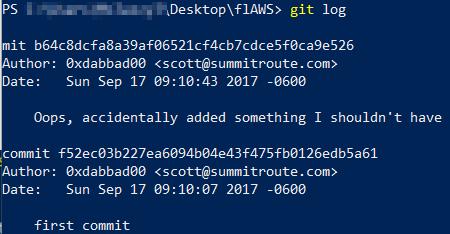 flaws_level3_aws_git_log