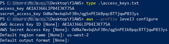 flaws_level3_aws_profile